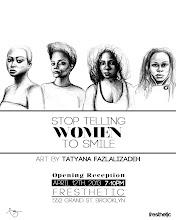 Photo: Brooklyn, NY, anti-street harassment art exhibit opens on April 11