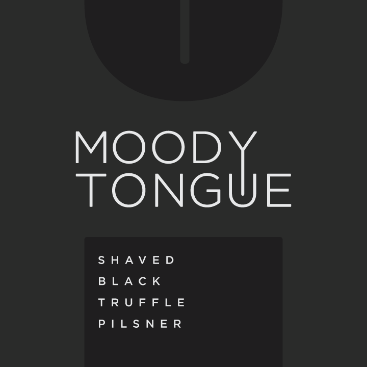 Logo of Moody Tongue Shaved Black Truffle Pilsner