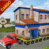 Transport City Building Cargo Island House Mover