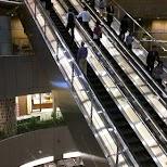 escalator at Roppongi Hills in Tokyo, Tokyo, Japan