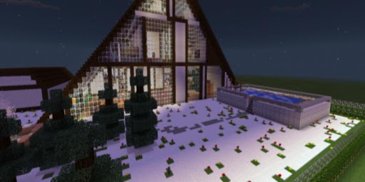 Family house for Minecraft PE for PC