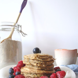 Homemade Poppy Seed Pancake Mix.