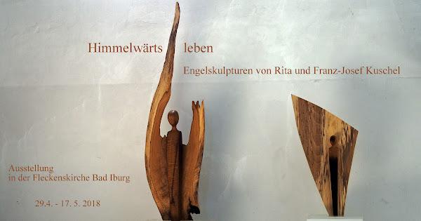 Himmelwärts leben - Engelskulpturen von Rita und Franz-Josef Kuschel