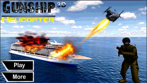 Alpha Commando Gunship War 3D