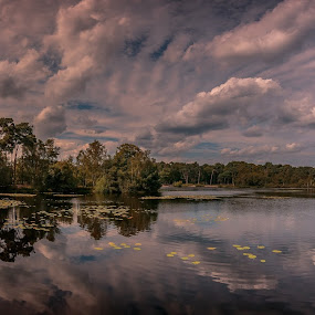 Groot Goorven by Rob Menting - Landscapes Cloud Formations ( canon, eos, europe, nature, 70d, limburg, noord-brabant, landscape, netherlands, canon eos 70d )