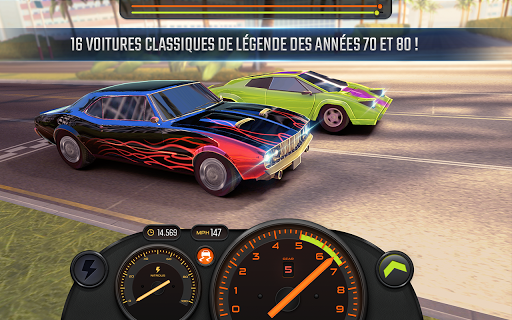 Racing Classics PRO: Drag Race & Real Speed APK MOD – Pièces de Monnaie Illimitées (Astuce) screenshots hack proof 1