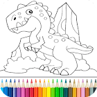 Dino Coloring Game icon