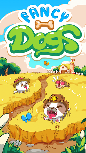 Fancy Dogs - Cute dogs dress up and match 3 puzzle modavailable screenshots 6