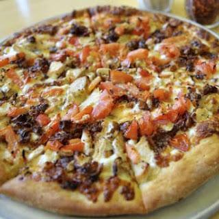 Chicken Supreme Pizza.