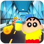 Super Shinchan Boy Subway Run icon