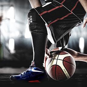Basketball dribble by Yudi Leonardo - Sports & Fitness Basketball