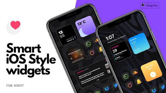 Smart iOS Style widgets 2.0 (Paid)