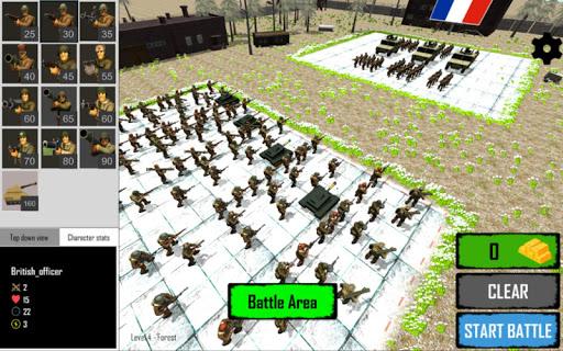 WORLD WAR 2 EPIC BATTLE SIMULATOR 1.3 screenshots 1