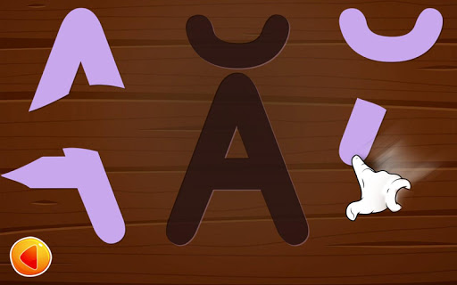Alphabets game for baby kids - learn letters  screenshots 3