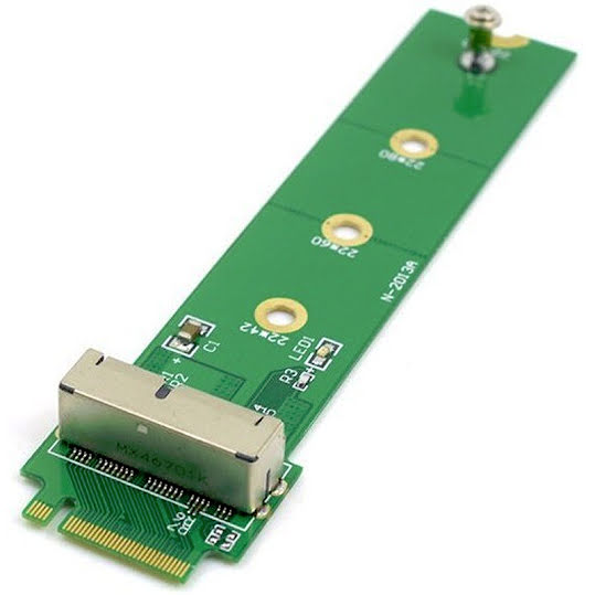 CoreParts 12+16 PIN MacBook SSD to NGFF M.2 PCIe Adapter
