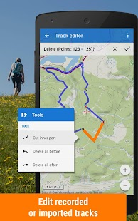 Locus Map Free - Hiking GPS navigation and maps Screenshot