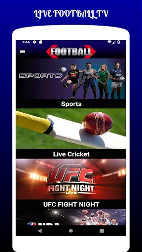 LIVE FOOTBALL TV STREAMING HD  screenshots 2