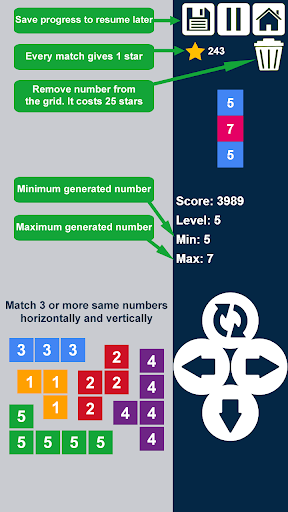Columns Plus - Drop n Merge Numbers - Merge Puzzle V3.2.0 de.gamequotes.net 3