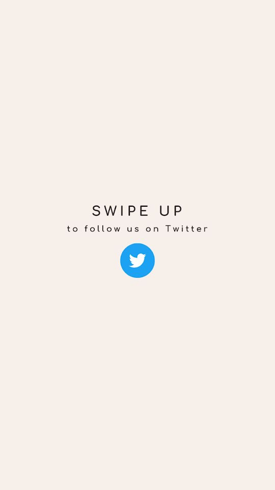Follow Us On Twitter - Facebook Story Template