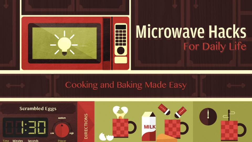 Easy microwave hacks that will make your life easier