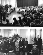 Photo: Entlassungsfeier im Hotel Stadt Hamburg 1966