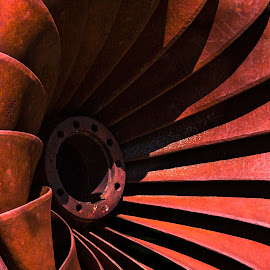 Turbine by Dave Lipchen - Artistic Objects Industrial Objects ( turbine )
