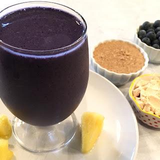 Blueberry Pineapple Protein Smoothie Recipe