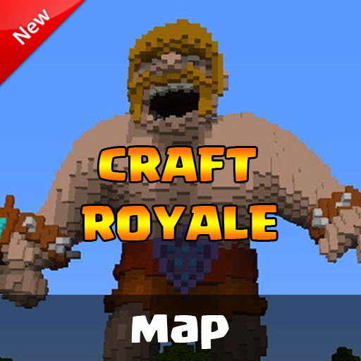 Map clash royale for Minecraft