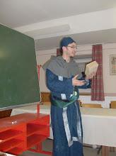 Photo: Vorlesung über vergleichende Theologie von Pater Luicatus.