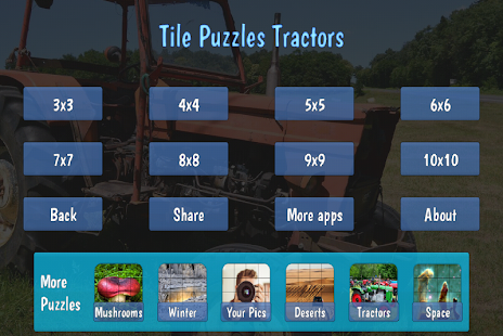 Tile Puzzles · Tractors- screenshot thumbnail