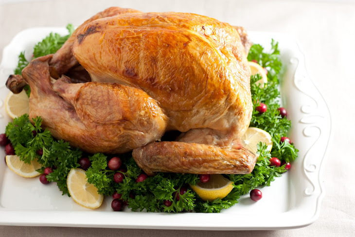 Brined and Roasted Turkey Recept | Yummly