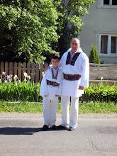 Photo: Traditional costumes of Bucovina.