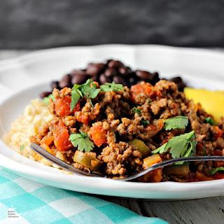 Easy Cuban-Style Beef Picadillo