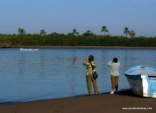 Photo: Birding across from the San Blas boat docks to Peso Island