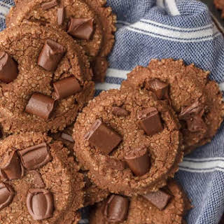 Fluffy Double Chocolate Sugar Cookies.