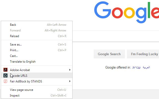 Google URLS decoder