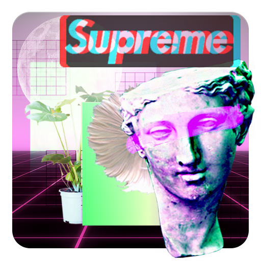 Download Aesthetic Photo Editor Glitch Vaporwave Stickers On Pc Mac With Appkiwi Apk Downloader