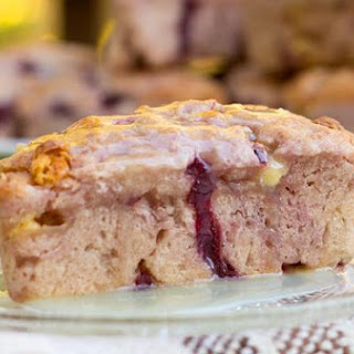 Cherry Almond White Chocolate Scones