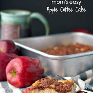 Mom's Easy Apple Coffee Cake.