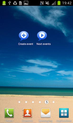 Talking Calendar Reminder app  screenshots 5