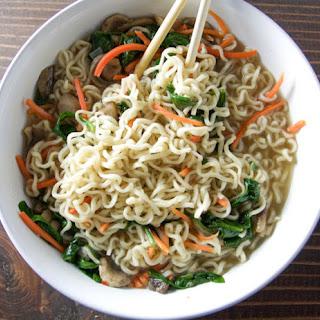 Easy Homemade Vegetable Ramen