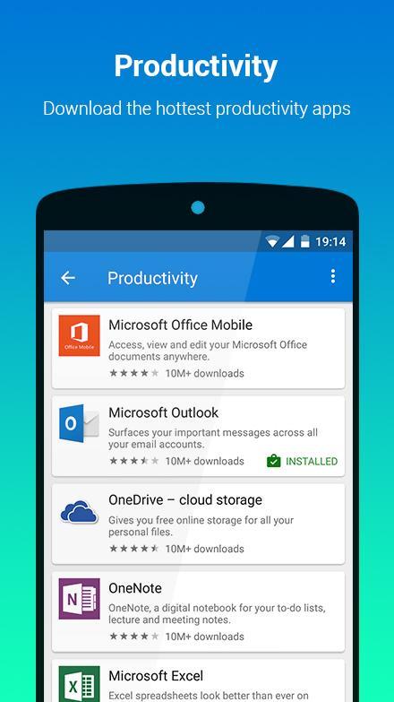 Microsoft lança loja de aplicações para Android 2
