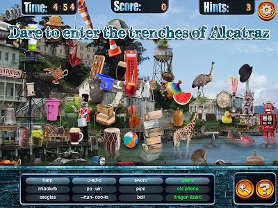 Hidden Objects Alcatraz Escape screenshot 4