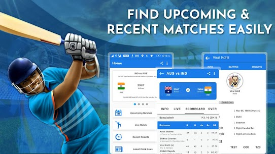 Crick Feed – Live Cricket score & Update 5