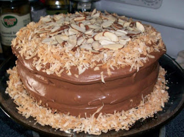 Diane's Almond Joy Cake Recipe