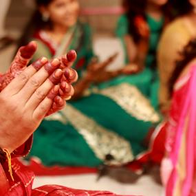 Wedding ceremony by Anurag Bhateja - Wedding Ceremony ( weddings, hina, hindu wedding, indian wedding, groom mehndi )