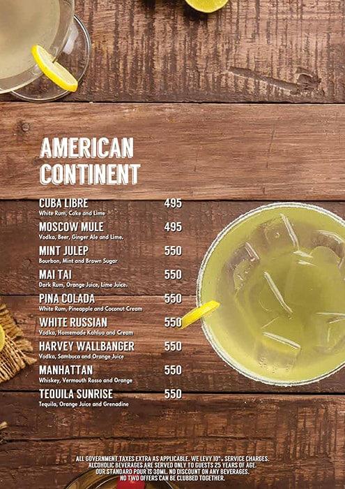 Lord of the Drinks Andheri menu 9