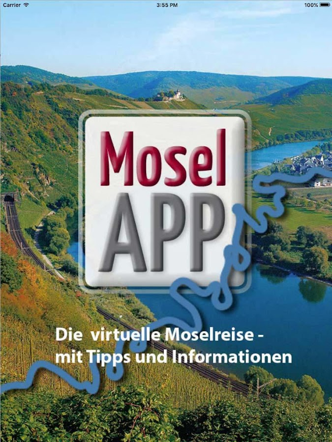 Mosel-App – Screenshot