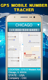 GPS Mobile Number Location screenshot