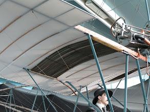 Photo: Refroidissement du moteur de la Santos Dumont Demoiselle